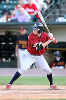 July 1st 2008:  Outfielder Rich Thompson of the Lehigh Valley IronPigs, Class-AAA affiliate of the Philadelphia Phillies, during a game at Frontier Field in Rochester, NY.  Photo by:  Mike Janes/Four Seam Images