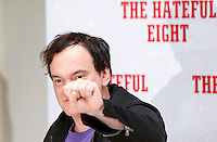 "Il regista statunitense Quentin Tarantino posa durante un photocall per la presentazione del suo nuovo film ""The Hateful Eight"" a Roma, 28 gennaio 2016.<br /> U.S. director Quentin Tarantino poses during a photo call for the presentation of his new movie 'The Hateful Eight' in Rome, 28 January 2016.<br /> UPDATE IMAGES PRESS/Riccardo De Luca"