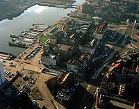 Januari 1994. Eilandje in Antwerpen.