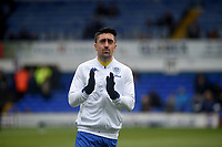 Leeds United's Pablo Hernandez during the pre-match warm-up <br /> <br /> Photographer Hannah Fountain/CameraSport<br /> <br /> The EFL Sky Bet Championship - Ipswich Town v Leeds United - Sunday 5th May 2019 - Portman Road - Ipswich<br /> <br /> World Copyright © 2019 CameraSport. All rights reserved. 43 Linden Ave. Countesthorpe. Leicester. England. LE8 5PG - Tel: +44 (0) 116 277 4147 - admin@camerasport.com - www.camerasport.com