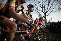 Sven Nys (BEL/Crelan-AAdrinks) at the start<br /> <br /> Koppenbergcross 2014