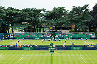 A general view of the Nottingham Tennis Centre<br /> <br /> Photographer Alex Dodd/CameraSport<br /> <br /> Tennis - WTA World Tour - Nature Valley Open Tennis Tournament - Day 3 - Wednesday 13th June 2018 - Nottingham Tennis Centre - Nottingham<br /> <br /> World Copyright &copy; 2018 CameraSport. All rights reserved. 43 Linden Ave. Countesthorpe. Leicester. England. LE8 5PG - Tel: +44 (0) 116 277 4147 - admin@camerasport.com - www.camerasport.com