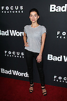 """Ava Deluca-Verley<br /> at the """"Bad Words"""" Los Angeles Premiere, Arclight, Hollywood, CA 03-05-14<br /> David Edwards/DailyCeleb.Com 818-249-4998"""