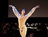 English National Ballet <br /> Emerging Dancer 2015 <br /> at Queen Elizabeth Hall, Southbank, London, Great Britain <br /> 23rd March 2015 <br /> <br /> <br /> Vitor Menezes in Nutcracker solo <br /> <br /> <br /> <br /> <br /> <br /> <br /> Photograph by Elliott Franks <br /> Image licensed to Elliott Franks Photography Services