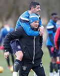 300318 Rangers training