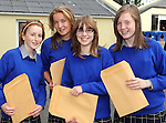 Vicky Moynihan, Aoife Stephens, Amy Fisher and Bronagh Murphy with their Junior Cert results at Presentation Secondary School Milltown  on Wednesday.  Picture: Eamonn Keogh (MacMonagle, Killarney)