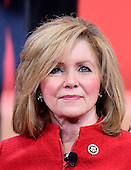 United States Representative Marsha Blackburn (Republican of Tennessee) speaks at the Conservative Political Action Conference (CPAC) at the Gaylord National at National Harbor, Maryland on Thursday, February 26, 2015.<br /> Credit: Ron Sachs / CNP