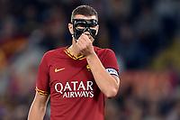 Edin Dzeko of AS Roma reacts <br /> Roma 27-10-2019 Stadio Olimpico <br /> Football Serie A 2019/2020 <br /> AS Roma - AC Milan<br /> Foto Andrea Staccioli / Insidefoto