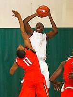 April 9, 2011 - Hampton, VA. USA; Jarmal Reid participates in the 2011 Elite Youth Basketball League at the Boo Williams Sports Complex. Photo/Andrew Shurtleff