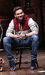 Neil Haskell during the an eduHAM Q & A with the cast of Broadway's 'Hamilton' at The Richard Rodgers Theatre on April 25, 2018 in New York City.