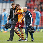 George Newell subbed due to injury