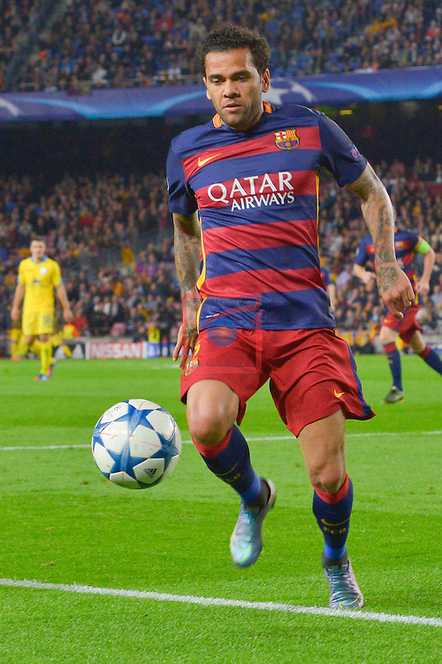 DANI ALVES  - Champions League 2015/16 Matchdy 4 - FC Barcelona vs Bate Borisov (3-0)