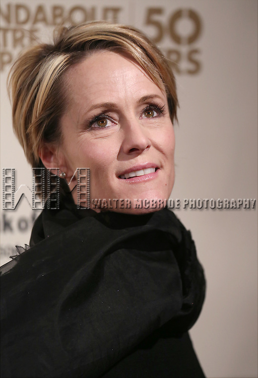 Mary Stuart Masterson attends the Roundabout Theatre Company's  50th Anniversary Gala at The Waldorf-Astoria on February 29, 2016 in New York City.