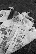 "New York City, NY, June 13h, 1971. Everybody shocked by the New York Times revelation on Vietnam war, it is the first of the  serie og three articles known today as ""Pentagon Papers"" involving Daniel Ellsberg."