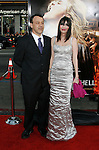 "HOLLYWOOD, CA. - May 12: Sam Raimi and wife Gillian Greene arrive at the premiere of Universal Pictures' ""Drag Me To Hell"" at Grauman's Chinese Theatre on May 12, 2009 in Hollywood, California."
