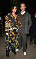 Betty Bachz and Richard Biedul at the LFW (Men's) a/w2018 Oliver Spencer catwalk show, BFC Show Space, The Store Studios, The Strand, London, England, UK, on Saturday 06 January 2018.<br /> CAP/CAN<br /> &copy;CAN/Capital Pictures
