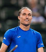 ALEXANDR DOLGOPOLOV (UKR)<br /> <br /> BNP PARIBAS OPEN, INDIAN WELLS, TENNIS GARDEN, INDIAN WELLS, CALIFORNIA, USA<br /> <br /> &copy; TENNIS PHOTO NETWORK