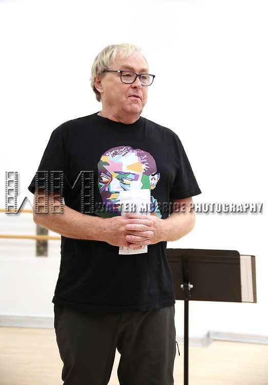 """Director Christopher Renshaw During the Open Rehearsal for the Miami New Drama's World Premiere Musical  """"A Wonderful World"""" at the Ripley-Grier Studios on January 26, 2020 in New York City."""