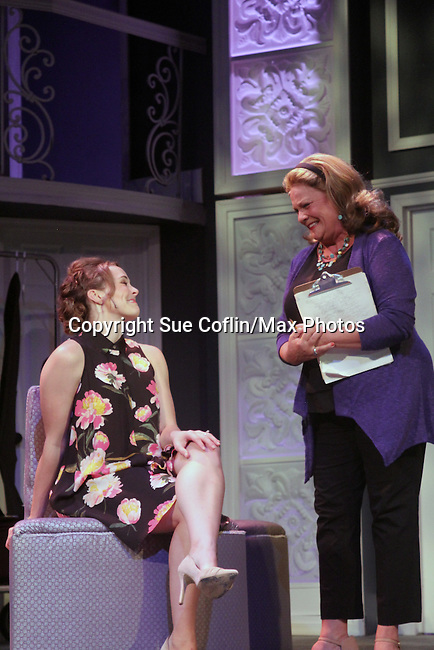 """Guiding Light's Kim Zimmer stars with Kayleen Seidl in """"It Shoulda Been You"""" - a new musical comedy - at the Gretna Theatre, Mt. Gretna, PA on July 30, 2016(Photo by Sue Coflin/Max Photos)"""