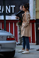 www.acepixs.com<br /> September 11, 2017 New York City<br /> <br /> Selena Gomez was seen on location for the Woody Allen Summer Project in New York City on September 11, 2017.<br /> <br /> Credit: Kristin Callahan/ACE Pictures<br /> <br /> Tel: 646 769 0430<br /> Email: info@acepixs.com