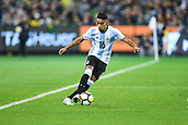 June 9th 2017, Melbourne Cricket Ground, Melbourne, Australia; International Football Friendly; Brazil versus Argentina; Jose Luis Gomez of Argentina running with the ball
