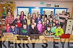 Coder Dojo going strong in Cahersiveen pictured here last Saturday's group at Colaiste na Sceilge with mentors and parents.
