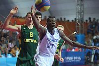 Nanjing 2014 Basquetbol 3x3 Final Francia vs Lituania