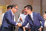 General view, <br /> AUGUST 3, 2016 - Softball &amp; Baseball :<br /> Baseball Federation of Japan, Japan Softball Association and Nippon Professional Baseball Organization holds a press conference<br /> after it was decided that the sport of <br /> Softball &amp; Baseball would be added to the Tokyo 2020 Summer Olympic Games<br /> on August 3rd, 2016 in Tokyo, Japan.<br /> (Photo by AFLO SPORT)