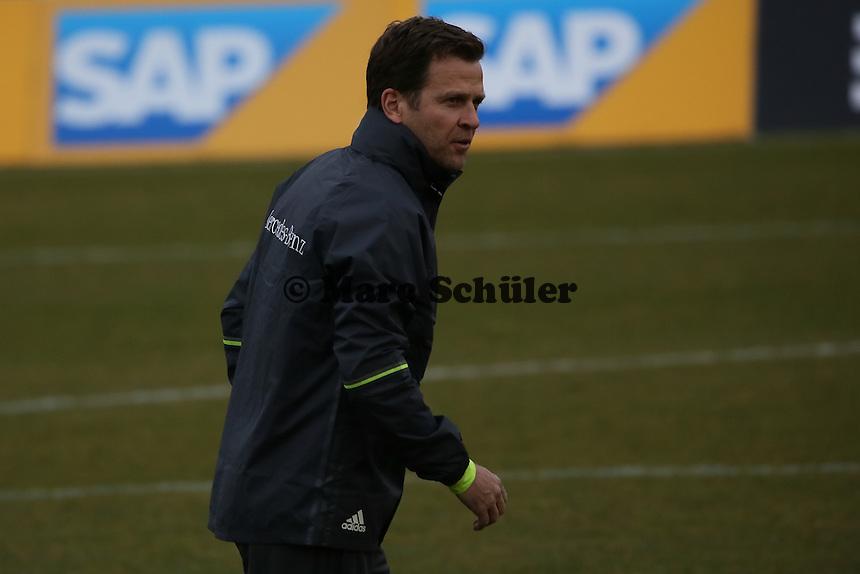 Manager Oliver Bierhoff - Training der Deutschen Nationalmannschaft, Wurfplatz Berlin