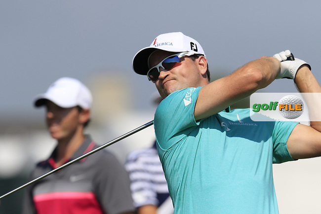 Zach JOHNSON (USA) tees off the 2nd tee during Friday's Round 2 of the 97th US PGA Championship 2015 held at Whistling Straits, Mosel, Kohler, Wisconsin, United States of America. 14/08/2015.<br /> Picture Eoin Clarke, www.golffile.ie