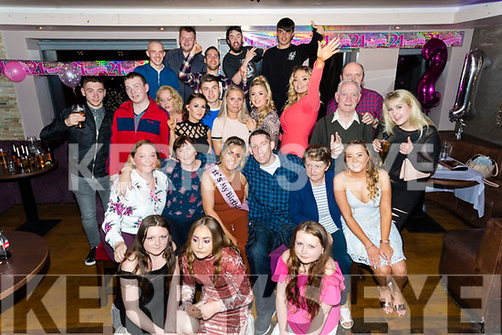 Sarah Murray, Marian Park, Tralee who celebrated her 21st birthday with family and friends at the Abbey Inn, Tralee on Saturday night last.