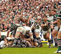 Leicester, ENGLAND.  Harry Ellis, Guinness Premiership Semi-Final. Leicester Tigers vs London Irish, at Welford Road, 05.2006. © Peter Spurrier/Intersport-images.com,  / Mobile +44 [0] 7973 819 551 / email images@intersport-images.com.   [Mandatory Credit, Peter Spurier/ Intersport Images].14.05.2006