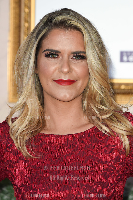 LONDON, UK. November 21, 2018: Gemma Oaten at the &quot;Surviving Christmas with the Relatives&quot; premiere at the Vue Leicester Square, London.<br /> Picture: Steve Vas/Featureflash