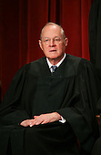 Washington, DC - September 29, 2009 -- Associate Justice of the United States Supreme Court Anthony M. Kennedy poses for a photo during a photo-op at the U.S. Supreme Court in Washington, D.C. on Tuesday, September 29, 2009..Credit: Gary Fabiano / Pool via CNP