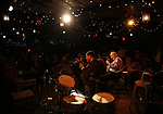 Blind Boy Paxton and Eddy Davis performs at the New York Hot Jazz Festival own September 30, 2018 at The McKittrick Hotel in New York City.