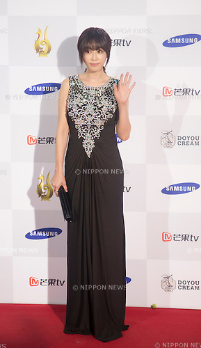 Kang Ye-won, Sep 10, 2015 : South Korean actress Kang Ye-won attends a red carpet event of Seoul International Drama Awards 2015 in Seoul, South Korea. (Photo by Lee Jae-Won/AFLO) (SOUTH KOREA)