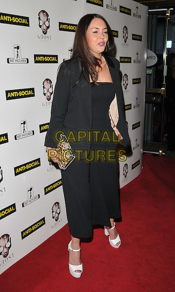 LONDON, ENGLAND - APRIL 28: Lacey Turner attends the &quot;Anti-Social&quot; UK film premiere, Cineworld Haymarket, Haymarket, on Tuesday April 28, 2015 in London, England, UK. <br /> CAP/CAN<br /> &copy;Can Nguyen/Capital Pictures
