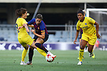 FC Barcelona vs Chelsea FC: 1-1.<br /> Karen Carney, Vicky Losada &amp; Carter.