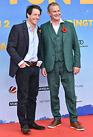 www.acepixs.com<br /> <br /> November 12 2017, Berlin<br /> <br /> Hugh Bonneville (R) and Hugh Grant arriving at the 'Paddington 2' premiere at Zoo Palast on November 12, 2017 in Berlin, Germany. <br /> <br /> By Line: Famous/ACE Pictures<br /> <br /> <br /> ACE Pictures Inc<br /> Tel: 6467670430<br /> Email: info@acepixs.com<br /> www.acepixs.com