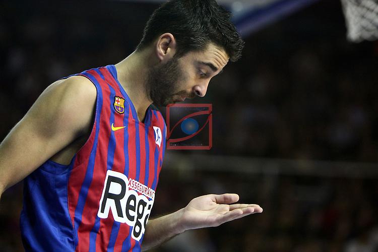 JC Navarro. FC Barcelona Regal vs Bizkaia Bilbao Basket: 91-72 (League ACB/Endesa 2011/12-Season: 4)