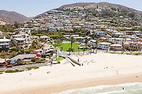 Laguna Beach Coastline Aerial Photo
