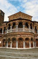 Venice:  S.S. Maria e Donato, apse.  Late 11th century.  Photo  '83.