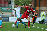 O's JOsh Wright & Reece Grego-Cox during Leyton Orient vs Crawley Town, Sky Bet EFL League 2 Football at The Breyer Group Stadium on 24th August 2019