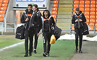 Players arrive for the game<br /> <br /> Photographer Dave Howarth/CameraSport<br /> <br /> The EFL Sky Bet League One - Blackpool v Wycombe Wanderers - Tuesday 29th January 2019 - Bloomfield Road - Blackpool<br /> <br /> World Copyright © 2019 CameraSport. All rights reserved. 43 Linden Ave. Countesthorpe. Leicester. England. LE8 5PG - Tel: +44 (0) 116 277 4147 - admin@camerasport.com - www.camerasport.com