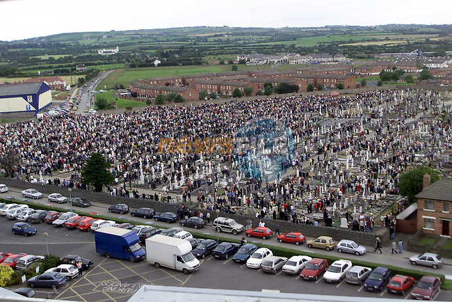 Crowds at St. Peter's Blessings of the Graves on sunday..Picture Paul Mohan Newsfile