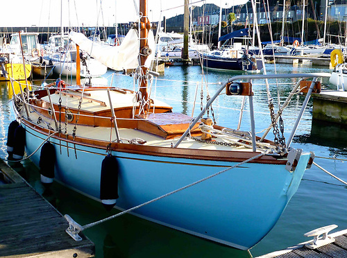 Robert Bourke's 1938 L Class Iduna as restored in 2018 by Johnny Leonard of Howth