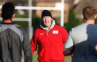 Photo: Richard Lane/Richard Lane Photography. Heroes Rugby Challenge in aid of Help for Heros North training at Wasps training ground, Twyford Avenue.  30/11/2011. John  Kirwan.
