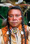 Portrait of a Kalispel man, USA