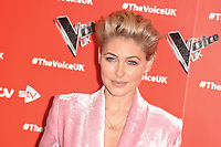 LONDON, UK. January 03, 2019: Emma Willis at the launch photocall for the 2019 series of &quot;The Voice&quot; London.<br /> Picture: Steve Vas/Featureflash