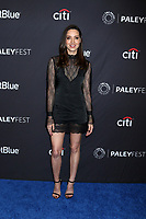 """LOS ANGELES - MAR 21:  Aubrey Plaza at the PaleyFest - """"Parks and Recreation"""" 10th Anniversary Reunion at the Dolby Theater on March 21, 2019 in Los Angeles, CA"""
